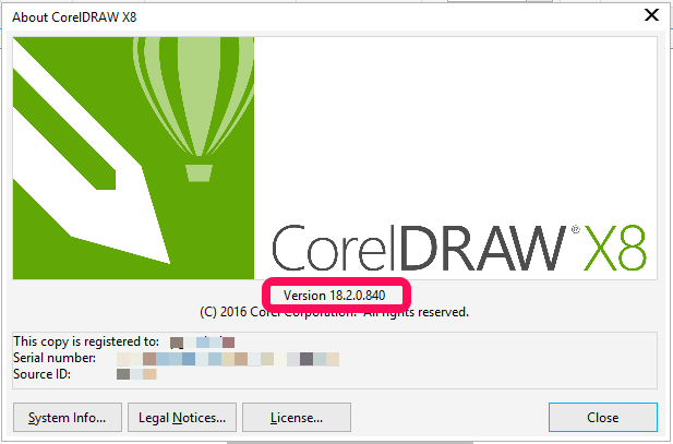 Error Coreldraw R X8 Is Not Installed When Trying To Switch To